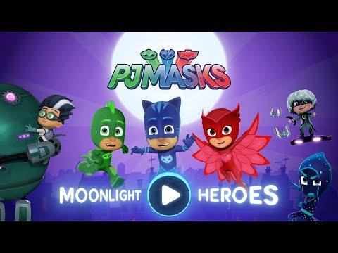 PJ Masks Games ⭐️ PJ Masks: Moonlight Heroes ❤️ Gameplay Super Levels W/GEKKO ⭐️ Game For Kids