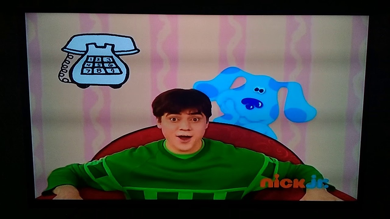 Blues Clues We Sat On Down Steve Goes To College Youtube