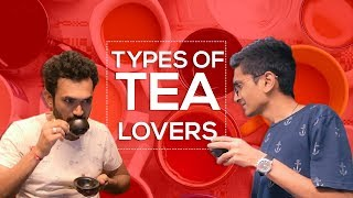 TYPES OF TEA LOVERS IN OFFICE || DUDE SERIOUSLY