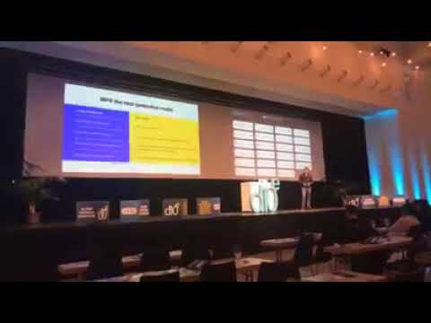 WePower pitch at d10e conference in Davos, Switzerland