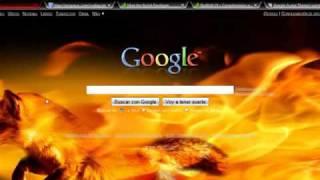 como cambiar estilo de google, firefox,youtube y resolver ploblema de LAS BARRAS BLANCAS.