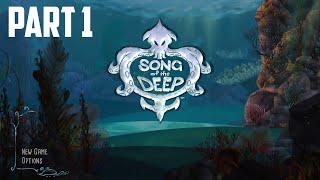 Song of the Deep - 100% Walkthrough Part 1 [PS4] – Glowkelp Forest (Advanced)