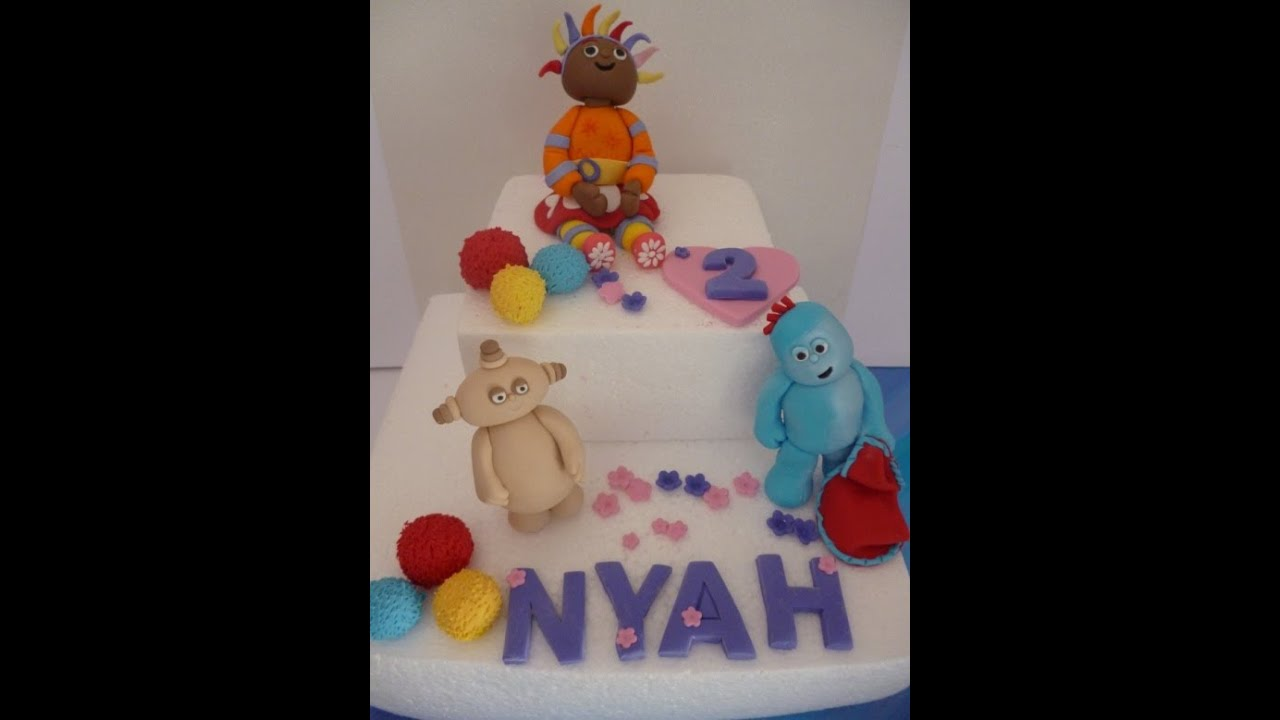 In the Night Garden Cake Topper Iggle Piggle Upsy Daisy ...