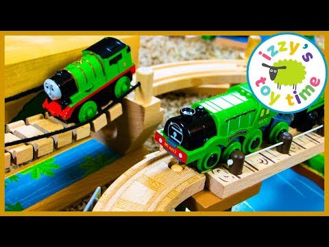 Thomas and Friends Toys for Kids! Janod Story Express Train!