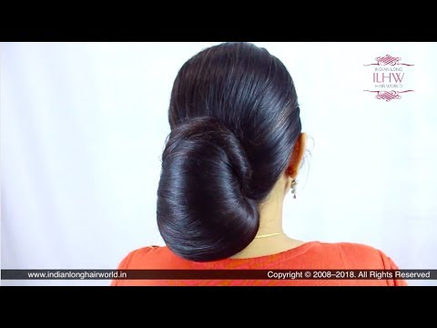 ILHW Sunila's Beautiful & Elegant Layered Bun/Koli Style Bun Making, Flaunting & Bun Drop