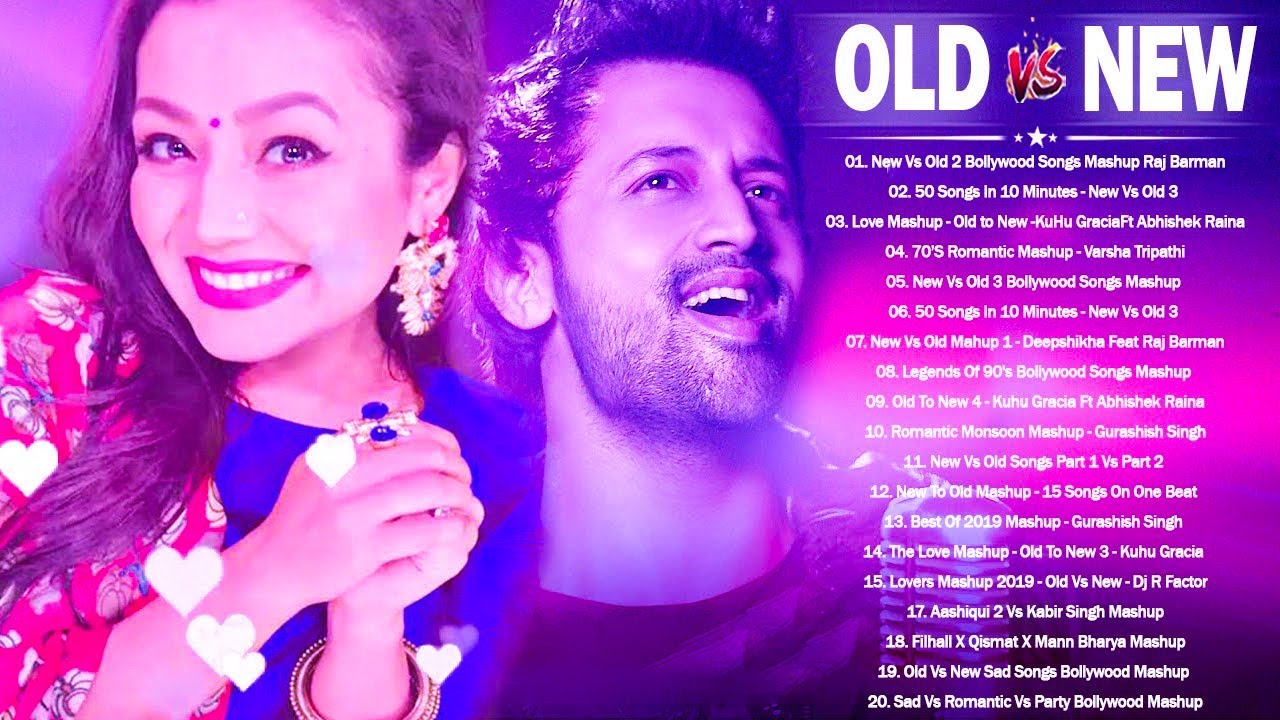 Download Old Vs New Bollywood Mashup 2021  Old Hindi Sad Songs Mashup \\ Romantic Mashup, BOLLYWOOD SONGS
