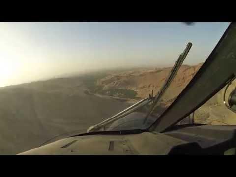 Helikoptertur Over Det Nordlige Afghanistan