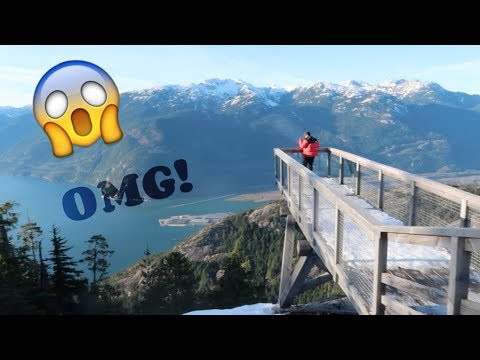 Facing FEAR of HEIGHTS! Travel Diary VANCOUVER & SQUAMISH