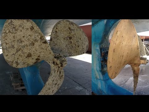 DRX Port San Luis - Barnacle Removal