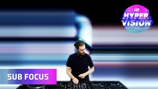 Sub Focus DJ Set - visuals by Rebel Overlay (UKF On Air: Hyper Vision)