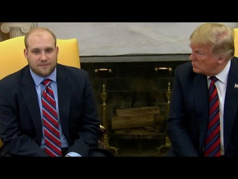 Trump welcomes home Josh Holt after his release from Venezuelan prison