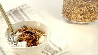 Toasted Museli With Millet, Coconut, Pistachios And Cranberries - Eat Clean With Shira Bocar