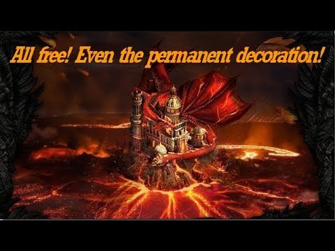 Clash Of Kings: All Free! Even The Permanent Decoration!