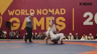 Игры кочевников-2016: Турнир по кыргыз курошу, финал/весовая категория 60 кг