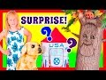 ASSISTANT Surprise Rocket Space Ship with Ryan the Dog Funny Kids Surprise Toys Video