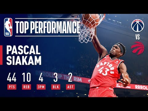 Pascal Siakam Drops Career-High 44 To Lead Toronto! | February 13, 2019