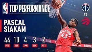 Pascal Siakam Drops Career-High 44 To Lead Toronto!   February 13, 2019