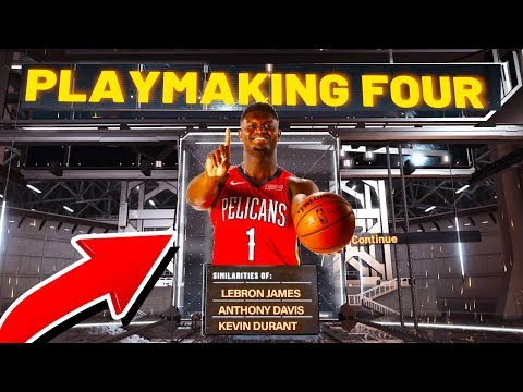 "NBA 2K20 NEW RARE ""PLAYMAKING FOUR"" BUILD! BEST CENTER SPEEDBOOSTING BUILD! BEST JUMPSHOT!"