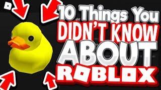 10 choses que vous ne savez peut-être pas sur Roblox!