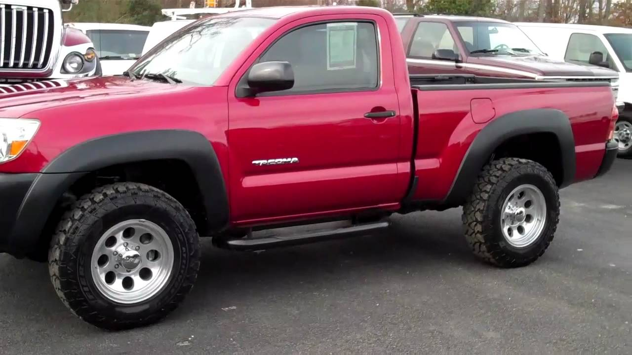 2006 toyota tacoma reg cab 4x4 lifted richmond va youtube. Black Bedroom Furniture Sets. Home Design Ideas