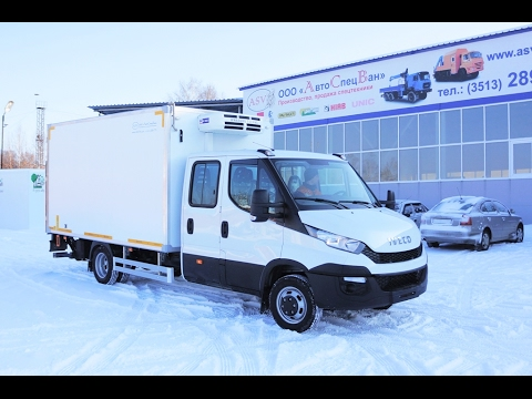 Iveco Daily 45C15DH RR  Фургон с ХОУ и с Гидробортом