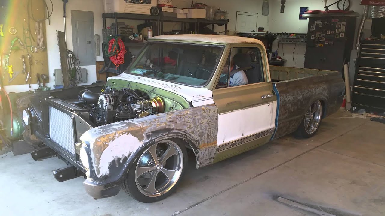 1967 chevy c10 short bed conversion