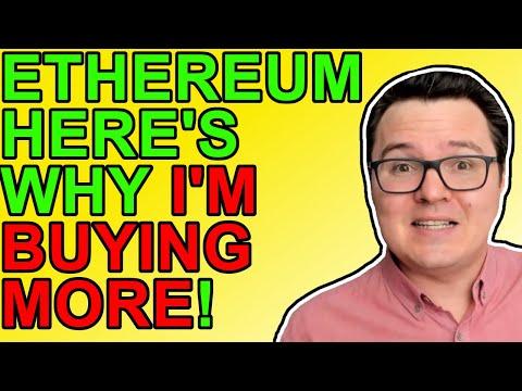 7 Reasons I'm Buying More Ethereum! [Crypto News 2021]