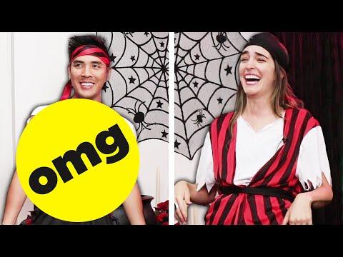 Best Friends Swap Men And Women's Halloween Costumes
