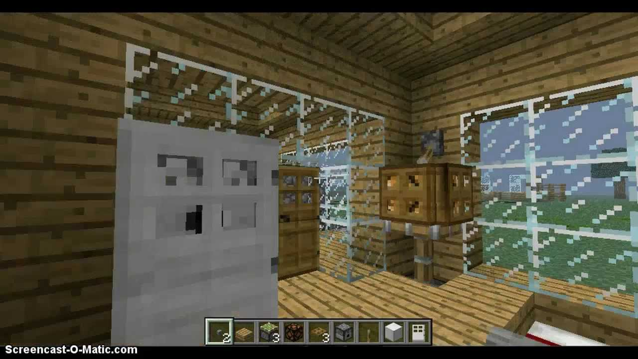 Small Bedroom Fridges Minecraft How To Make A Small Bedroom With A Fridge Youtube