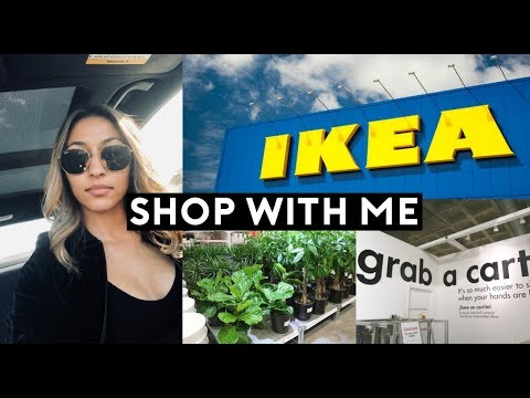 IKEA SHOP WITH ME + HAUL! (ON A BUDGET) SUMMER 2018