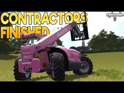 West Coast - Farming Simulator 17 -  Ep.9 (with Wheel Cam)