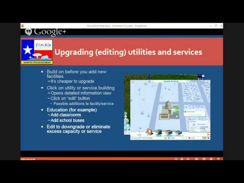 Webinar - SimCity Tips for Future City