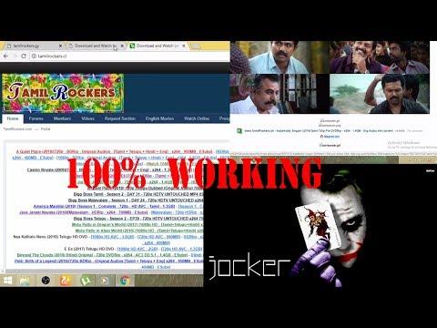 Tamilrockers New Website 2018 | How To Find New Tamilrockers Website | 100% Working | Jocker