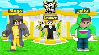 OPENING My OWN CASINO In Minecraft!