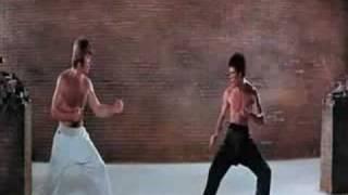 Bruce Lee vs Chuck Norris (la pelea del siglo)