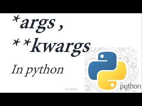 Python Tutorial for Beginners 9 Urdu/Hindi: *args , **kwargs  2/2 thumbnail