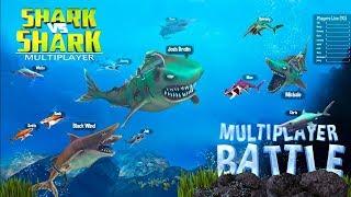 Shark vs Shark Multiplayer - Word Hunting Android Gameplay ᴴᴰ