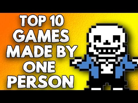 Top 10 Games Made By One Person