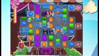 Candy Crush Saga Level 1485 with 9 moves left,  NO BOOSTERS!