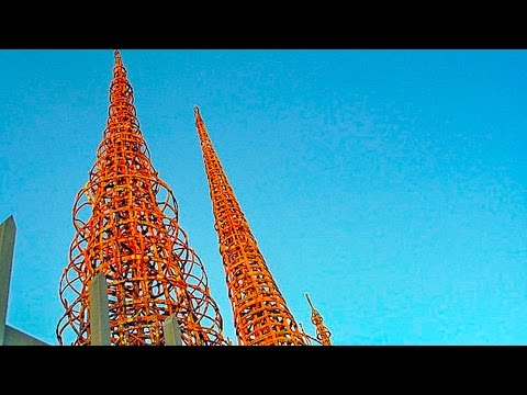 A Walk Around Watts Towers, Los Angeles