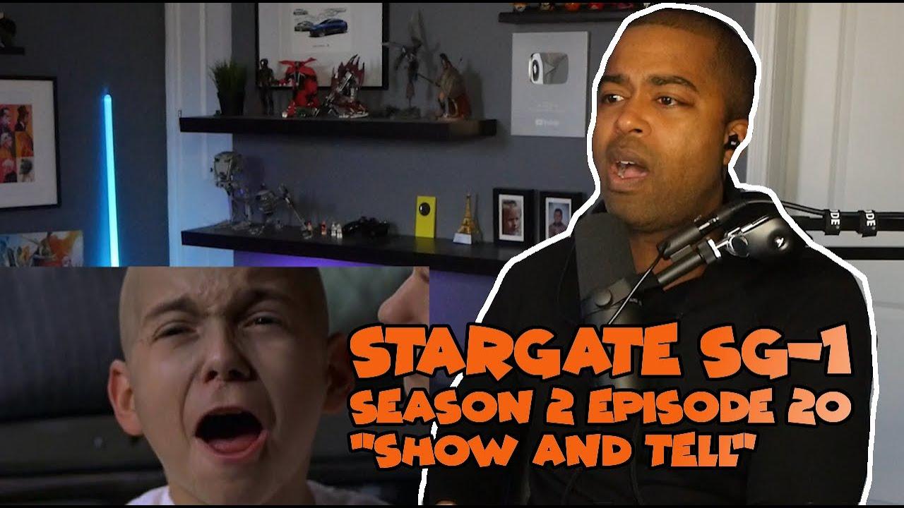 """Stargate SG-1 Season 2 Episode 20 """"Show and Tell"""" ☄️ JV Reaction!"""