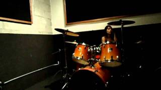 Slayer-crionics drum cover by Nayelly