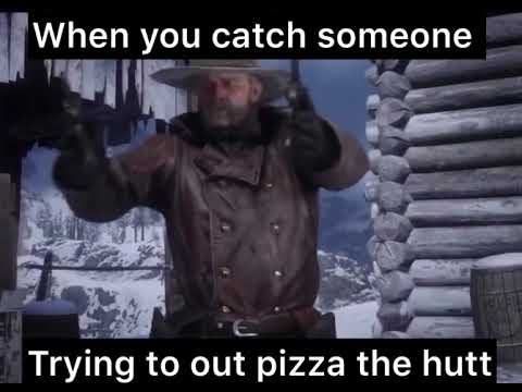 When You Catch Someone Trying To Out Pizza The Hutt Youtube