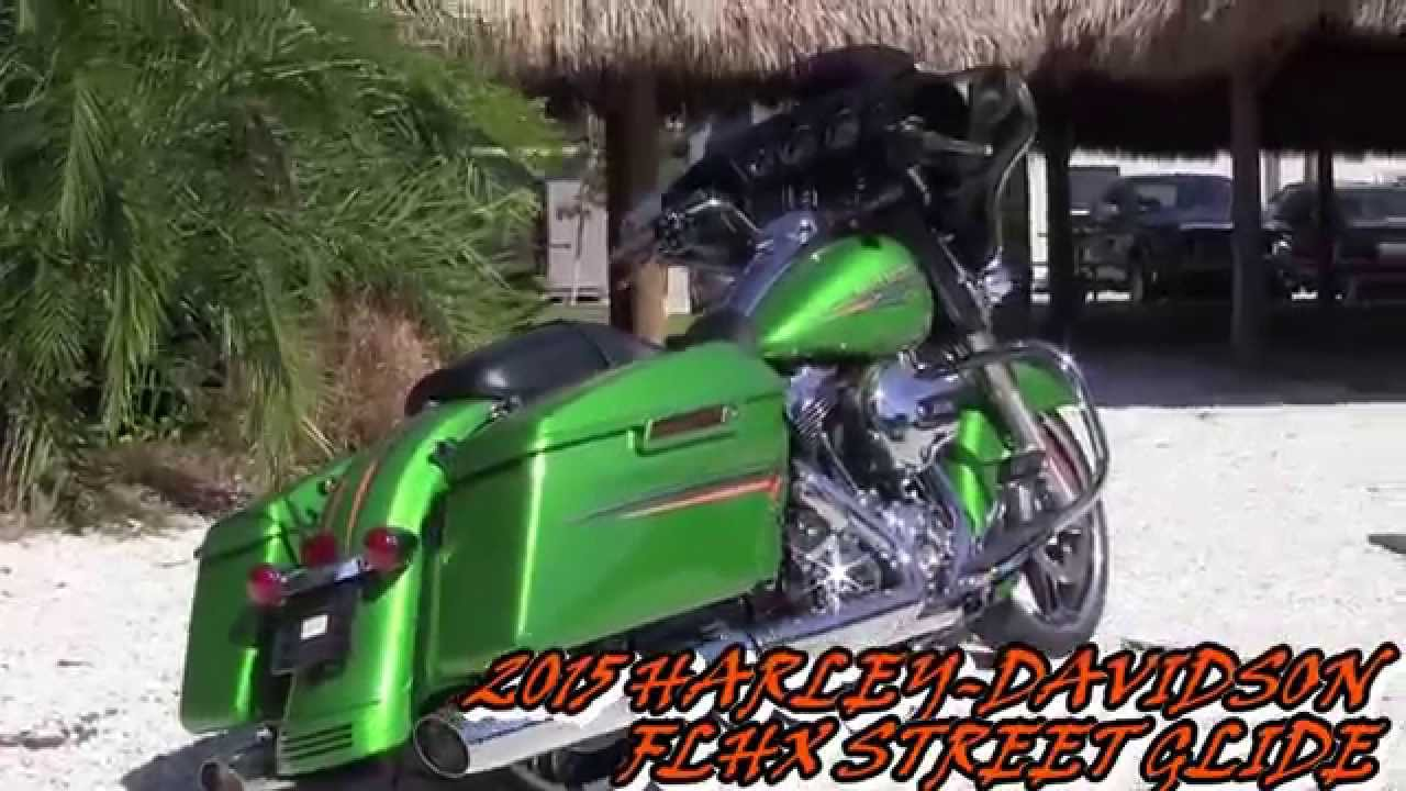 2015 harley davidson street glide new paint color - youtube