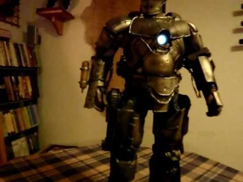 Iron Man Mark 1 Maquette Sideshow 323 Of 1000 Pcs Youtube