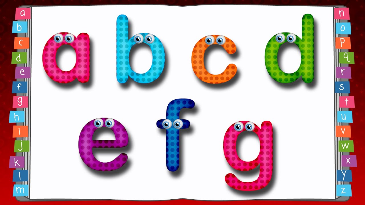 Box Letters Lowercase Alphabet