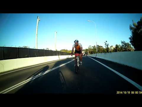 Brisbane to Gold Coast Express Bus Lane Cycling Snippet