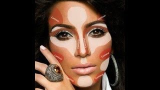 Kim Kardashian Highlight Tutorial Thumbnail
