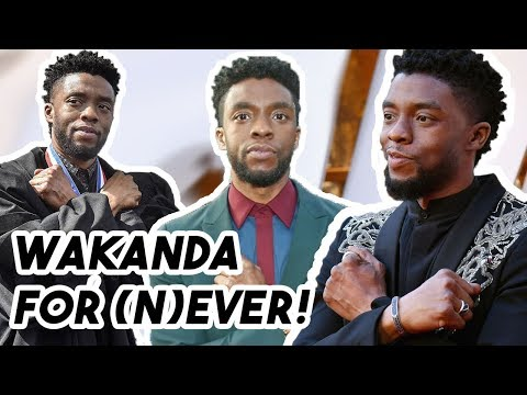 Chadwick Boseman Says He&39;s SICK of the Wakanda Forever Salute for 4 Minutes Straight  Funny Moments