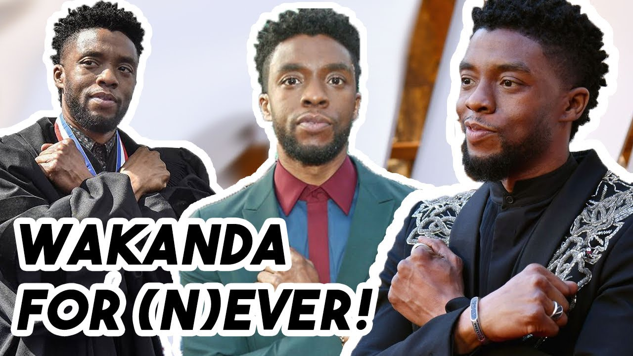 Chadwick Boseman Says He's SICK of the Wakanda Forever Salute for 4 Minutes Straight | Funny Mo